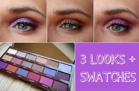 Палетка теней Makeup Revolution Revolution Violet Chocolate Palette фото 14