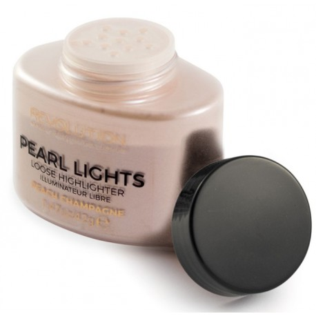 Хайлайтер Makeup Revolution Pearl Lights Loose Highlighter - Peach Champagne фото 2
