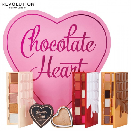 Набор косметики I Heart Revolution Chocolate Heart