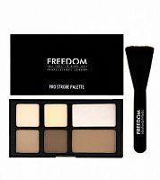 Пудровая палетка Freedom Makeup Pro Powder Strobe Palette