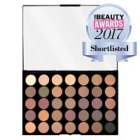 Палетка теней Makeup Revolution Pro HD Palette Amplified 35 - Luxe