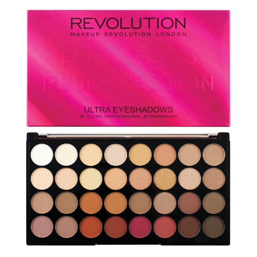 Палетка теней Makeup Revolution - Flawless 3 Resurrection