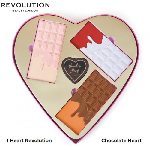 Набор косметики I Heart Revolution Chocolate Heart фото 2