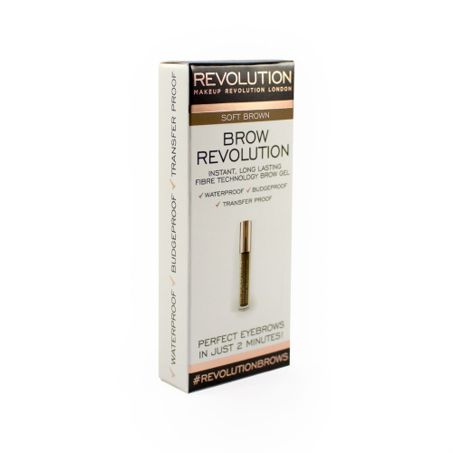 Гель для бровей Makeup Revolution Brow Revolution Soft Brown фото 5