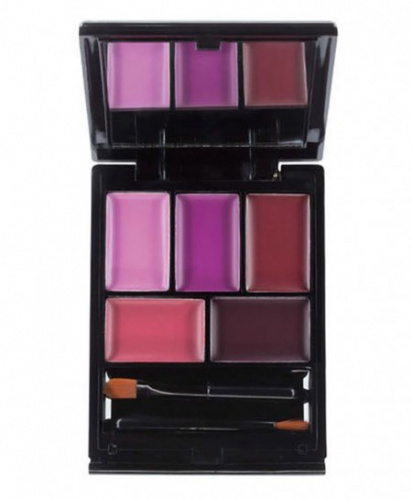 Палетка помад MUA Paint Box Lip Palette - Imperial Plums