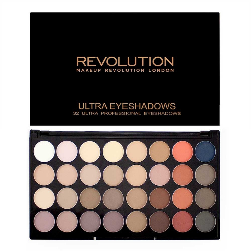 Палетка Makeup Revolution Ultra 32 Palette - Flawless Matte 2 фото 3