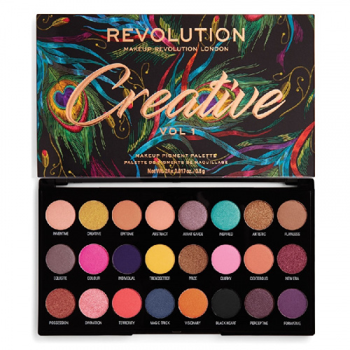 Палетка теней Makeup Revolution Creative Vol 1