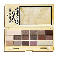 Палетка теней Makeup Revolution White Chocolate