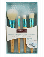 Набор кисточек EcoTools - Four Piece Beautiful Complexion Set