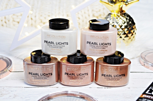 Хайлайтер Makeup Revolution Pearl Lights Loose Highlighter - Peach Champagne фото 7