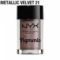 Пигмент NYX Pigments Metallic Velvet 21