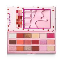 Палетка теней Makeup Revolution Strawberry Cheesecake Chocolate