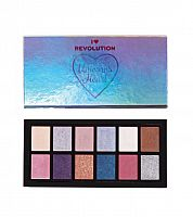 Палетка теней Makeup Revolution Unicorns Heart Eyeshadow Palette