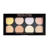 Палетка хайлайтеров Makeup Revolution - Ultra Strobe and Light Palette