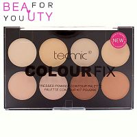 Палетка для контурования Technic Colour Fix Pressed Powder Contouring Palette